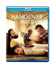 THE HANGOVER 2 PART II NEW BLU RAY DISC MOVIE BRADLEY COOPER ZACH GALIFIANAKIS
