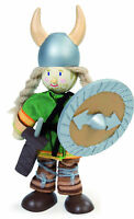 SVEN THE VIKING WARRIOR BUDKIN by LE TOY VAN BUDKINS BK943 - HISTORICAL RANGE