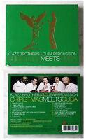 KLAZZ BROTHERS & CUBA PERCUSSION - Christmas Meets Cuba .. Digipak CD