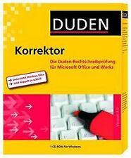 Duden Korrektor 4.0 von Bibliographisches Institut &... | Software | Zustand gut