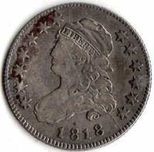 1818 CAPPED BUST QUARTER