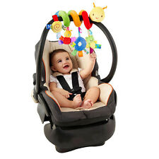 Babybett Kinderwagen Rasseln Greiflinge Spiral Sitz Spielzeug