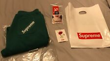 Supreme Corner Label Sweat Pants Pine Size Large Sold Out New with Tags