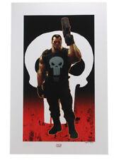 Sideshow Collectibles Punisher Brutal Justice Premium Art Print Marvel Sample