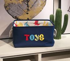 Rectangular Fabric Storage Bins Laundry Basket for Kids Toys Hamper Organizer