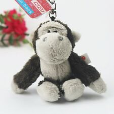 Stuffed animals key ring brown Chimpanzee Stuffed key Chain NEW plush doll
