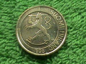 FINLAND   1 Markka   1996   UNC  *