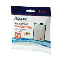 Aqueon Filter Cartridge 3 Pac Extra Small for Quiet Flow E Internal Power Size 3