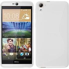 Silicone Case for HTC Desire 826 S-Style white Case