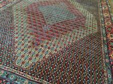 New listing 7x10 or 6.5 x 9.3 Vintage Veg Dye Caucasian Heriz Oushak Antique Serapi Kazak