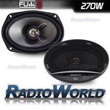"FLI Underground 6x9"" 270w 2-Way Car Door/Self Speakers Pair FU69"