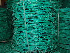 Barbed Wire Green Coated PVC 2,5mm 250M Lenght Reel