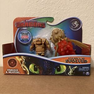 How To Train Your Dragon Legends Evolved Fishlegs & Meatlug Action Figure Toy