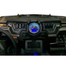 2014 Polaris RZR- XP 1000 Black Aluminum Dash Panel Kit With 4 Rocker Switches