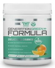 Generation Greens Powder   Best Organic Superfood Green Powder   60 Powerful Sup