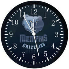 Memphis Grizzlies Black Frame Wall Clock Nice For Decor or Gifts W289