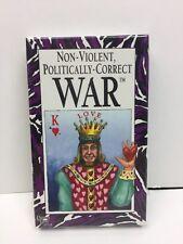 Non-Violent Politically-Correct WAR Card Game 1996 University Games