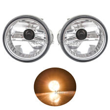 Pair LH+RH Front Light Fog Lamp Assembly+Bulb Fit For Toyota Prius 2004-2009