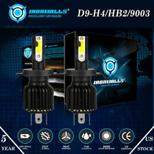 HS1 HB2 H4 LED Motorcycle Headlight Bulbs 6000K for BMW Honda Kawasaki Plug Play