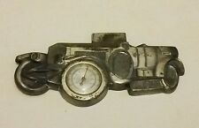Vintage Car 1913 Rolls Royce Thermometer Metal Wall Plaque Feature Display Piece