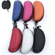 Sunglasses Protect Hard Case Clam Portable  Shell Fashion Eye Glasses Box Zipper