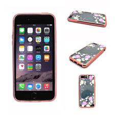 Fundas y carcasas brillantes de color principal rosa de silicona/goma para teléfonos móviles y PDAs