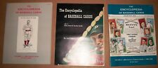 3 lot PB rare 1983-6 Lew Lipset The Encyclopedia of Baseball Cards Volume 1 2 3