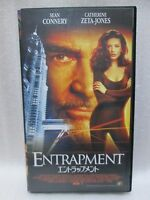 ENTRAPMENT : Sean Connery - Japanese original Vintage VHS  RARE