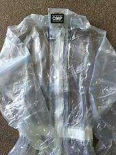 Go Kart - OMP RAINSUIT CLEAR - S - NEW
