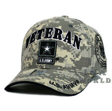 4ae80993115 U.S. ARMY hat ARMY STRONG VETERAN Military Licensed Baseball cap- Digital  Camo