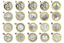 UK CHEAPEST £2, £1 COINS OLYMPIC,SHAKESPEARE,KingJames CommonWealth, Mary Rose £