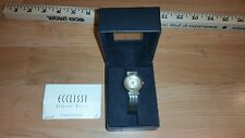 Ecclissi Sterling Silver Ladies Watch with Box and papers
