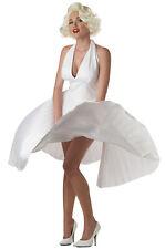 Marilyn Monroe Deluxe Movie Star Official Adult Halloween Costume Medium
