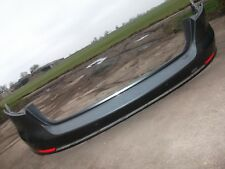 AUDI A4 AVANT 2017 REAR BUMPER IN BLACK WITH PDC AND INDICATORS