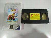Pedro y el Lobo Walt Disney Mini Clasicos - VHS Cinta Tape Español