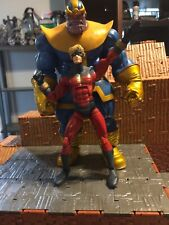 Diamond Select Marvel Legends Thanos & Captain Marvel Action Figure (Loose)