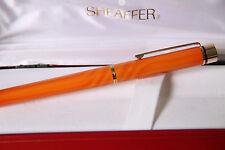 Sheaffer Targa Fountain Pen - Brand New Very Rare Cadmium Yellow Swirl 1180