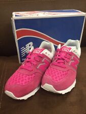 New Balance KL574 Kids US Size 4 Pink Sneakers NEW IN BOX