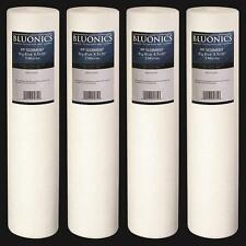 "4pc Big Blue Sediment Water Filters 4.5"" x 20"" (5 Micron) Replacement Cartridges"