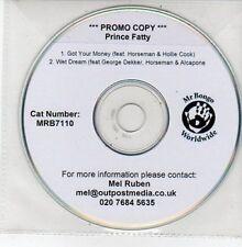 (DD689) Prince Fatty, Got Your Money - DJ CD