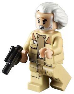 LEGO Star Wars General Jan Dodonna Minifigure From Set 75301 NEW