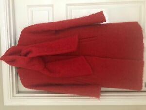 Hobbs wool and mohair coat