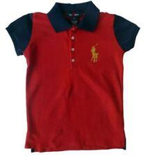 Magliette , maglie e camicie rossi manica corti per bambine dai 2 ai 16 anni Materiale 100 % Cotone