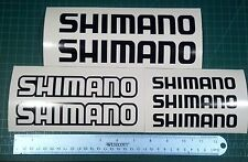 Shimano Decal Set 7 Fishing Boats MTB DH Bike Bass Rapala Windshield Baitcaster
