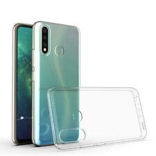 Huawei P40 Lite E Handy Hülle Silikon Cover Schutzhülle Soft Case Bumper klar