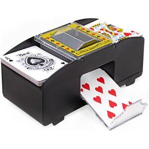 Automatische Poker Kartenmischmaschine Elektrisch Kartenmischgerät Kartenmischer