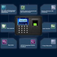 A6 2.4 inch TFT USB 32bit CPU Fingerprint Time Attendance Machine Clock L9
