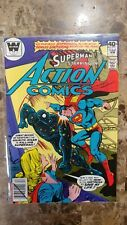 Action Comics #502 Whitman Variant Large Logo Harder to Find FN+ RARE!