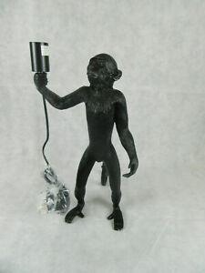 Standing Monkey design Up Floor Lamp Black Floor or Desk Lamp Outdoor or Indoor