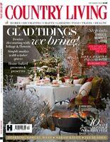 Country Living Magazine December 2020 - Glad Tidings! Magical Gardens Festive